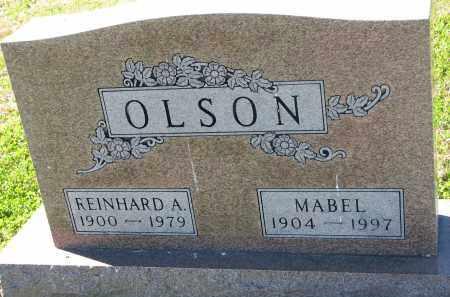 OLSON, MABEL - Yankton County, South Dakota   MABEL OLSON - South Dakota Gravestone Photos