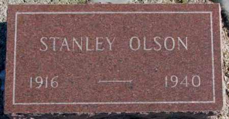 OLSON, STANLEY - Yankton County, South Dakota | STANLEY OLSON - South Dakota Gravestone Photos