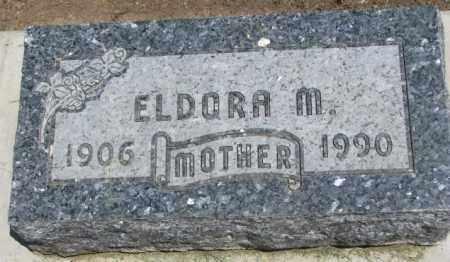 O'MALLEY, ELDORA M. - Yankton County, South Dakota | ELDORA M. O'MALLEY - South Dakota Gravestone Photos