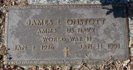 ONSTOTT, JAMES L. - Yankton County, South Dakota   JAMES L. ONSTOTT - South Dakota Gravestone Photos