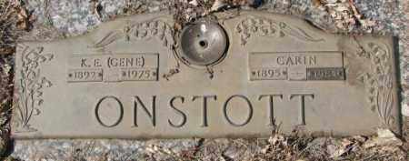 "ONSTOTT, K.E. ""GENE"" - Yankton County, South Dakota | K.E. ""GENE"" ONSTOTT - South Dakota Gravestone Photos"