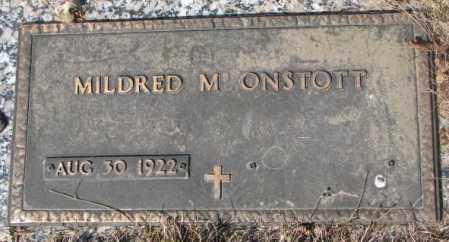 ONSTOTT, MILDRED M. - Yankton County, South Dakota | MILDRED M. ONSTOTT - South Dakota Gravestone Photos
