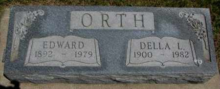 ORTH, DELLA L. - Yankton County, South Dakota | DELLA L. ORTH - South Dakota Gravestone Photos
