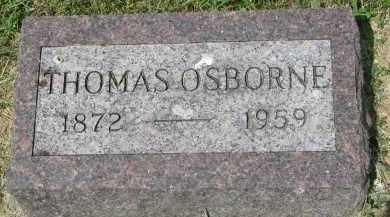 OSBORNE, THOMAS - Yankton County, South Dakota | THOMAS OSBORNE - South Dakota Gravestone Photos
