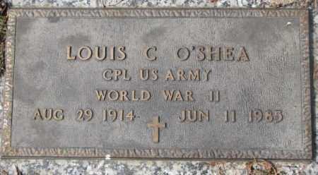 O'SHEA, LOUIS C. - Yankton County, South Dakota | LOUIS C. O'SHEA - South Dakota Gravestone Photos