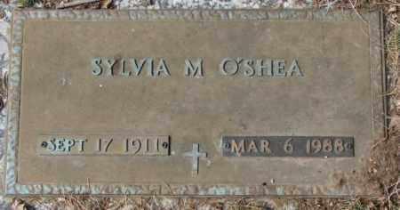 O'SHEA, SYLVIA M. - Yankton County, South Dakota | SYLVIA M. O'SHEA - South Dakota Gravestone Photos