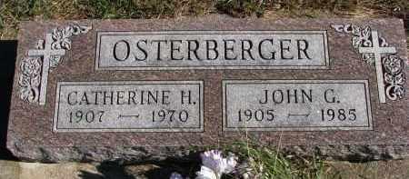 OSTERBERGER, JOHN G. - Yankton County, South Dakota | JOHN G. OSTERBERGER - South Dakota Gravestone Photos