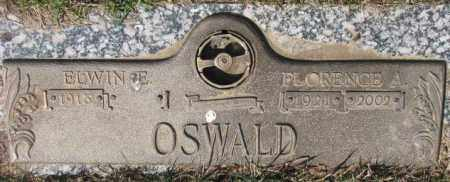 OSWALD, FLORENCE A. - Yankton County, South Dakota | FLORENCE A. OSWALD - South Dakota Gravestone Photos