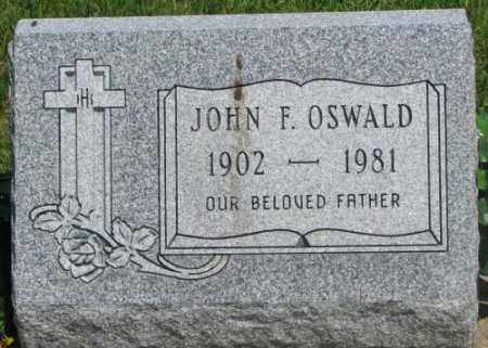 OSWALD, JOHN F. - Yankton County, South Dakota | JOHN F. OSWALD - South Dakota Gravestone Photos