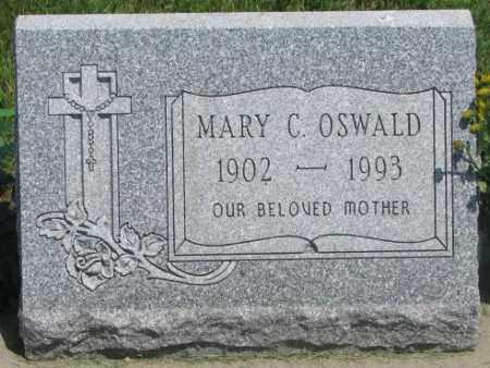 OSWALD, MARY C. - Yankton County, South Dakota | MARY C. OSWALD - South Dakota Gravestone Photos