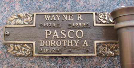 PASCO, DOROTHY A. - Yankton County, South Dakota | DOROTHY A. PASCO - South Dakota Gravestone Photos