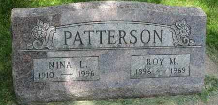 PATTERSON, NINA L. - Yankton County, South Dakota | NINA L. PATTERSON - South Dakota Gravestone Photos