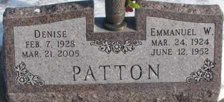 PATTON, DENISE - Yankton County, South Dakota | DENISE PATTON - South Dakota Gravestone Photos