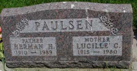 PAULSEN, LUCILLE C. - Yankton County, South Dakota | LUCILLE C. PAULSEN - South Dakota Gravestone Photos