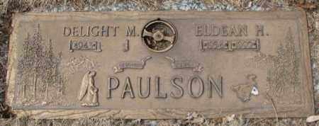 PAULSON, ELDEAN H. - Yankton County, South Dakota | ELDEAN H. PAULSON - South Dakota Gravestone Photos