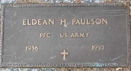 PAULSON, ELDEAN H. (MILITARY) - Yankton County, South Dakota | ELDEAN H. (MILITARY) PAULSON - South Dakota Gravestone Photos