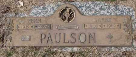 PAULSON, FERN - Yankton County, South Dakota | FERN PAULSON - South Dakota Gravestone Photos