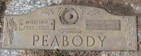 PEABODY, MILFORD - Yankton County, South Dakota | MILFORD PEABODY - South Dakota Gravestone Photos