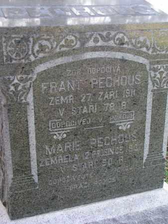 PECHOUS, FRANT - Yankton County, South Dakota | FRANT PECHOUS - South Dakota Gravestone Photos