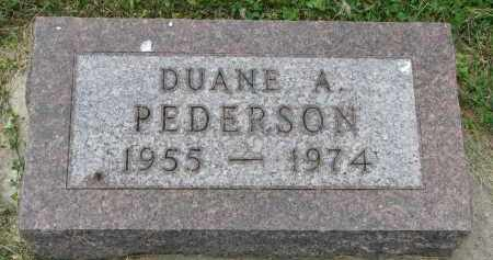 PEDERSON, DUANE A. - Yankton County, South Dakota | DUANE A. PEDERSON - South Dakota Gravestone Photos