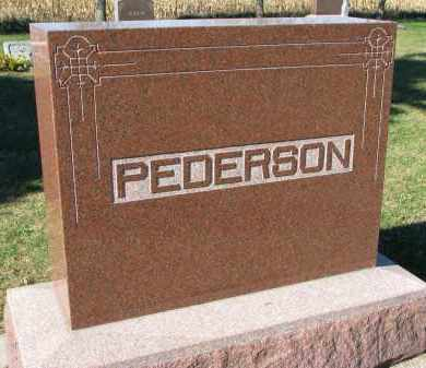 PEDERSON, FAMILY STONE - Yankton County, South Dakota | FAMILY STONE PEDERSON - South Dakota Gravestone Photos