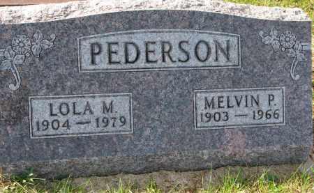 PEDERSON, LOLA M. - Yankton County, South Dakota | LOLA M. PEDERSON - South Dakota Gravestone Photos