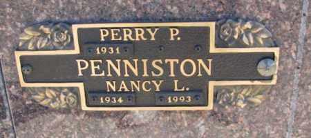 PENNISTON, PERRY P. - Yankton County, South Dakota | PERRY P. PENNISTON - South Dakota Gravestone Photos