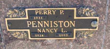 PENNISTON, PERRY P. - Yankton County, South Dakota | PERRY P. PENNISTON - South Dakota Gravestone Photos