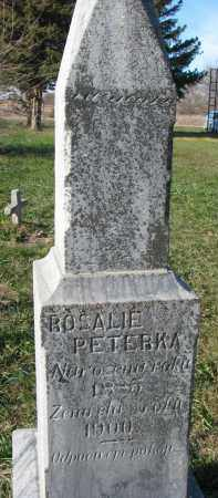 PETERKA, ROSALIE - Yankton County, South Dakota | ROSALIE PETERKA - South Dakota Gravestone Photos