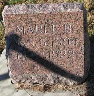 PETERSON, MABLE B. - Yankton County, South Dakota | MABLE B. PETERSON - South Dakota Gravestone Photos