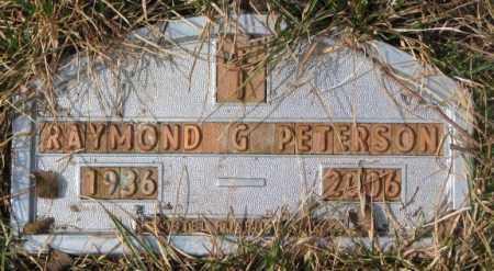 PETERSON, RAYMOND G. - Yankton County, South Dakota | RAYMOND G. PETERSON - South Dakota Gravestone Photos