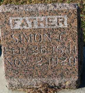 PETERSON, SIMON C. - Yankton County, South Dakota | SIMON C. PETERSON - South Dakota Gravestone Photos