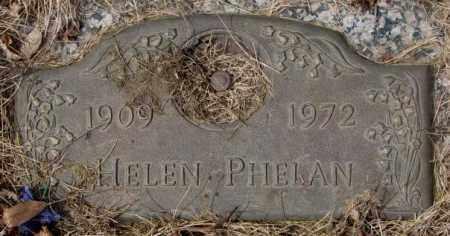 PHELAN, HELEN - Yankton County, South Dakota | HELEN PHELAN - South Dakota Gravestone Photos