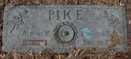 PIKE, ALFRED F. - Yankton County, South Dakota   ALFRED F. PIKE - South Dakota Gravestone Photos