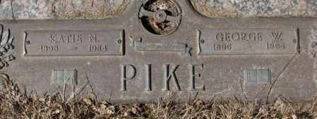 PIKE, KATIE N. - Yankton County, South Dakota | KATIE N. PIKE - South Dakota Gravestone Photos