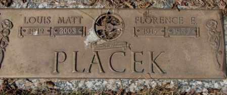 PLACEK, LOUIS MATT - Yankton County, South Dakota | LOUIS MATT PLACEK - South Dakota Gravestone Photos