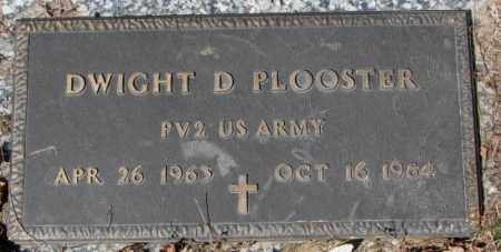 PLOOSTER, DWIGHT D. - Yankton County, South Dakota | DWIGHT D. PLOOSTER - South Dakota Gravestone Photos