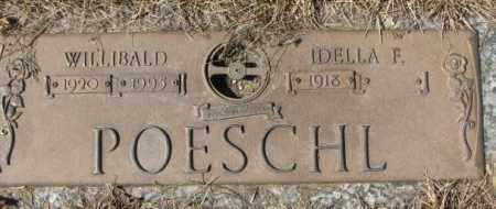 POESCHL, IDELLA F. - Yankton County, South Dakota | IDELLA F. POESCHL - South Dakota Gravestone Photos