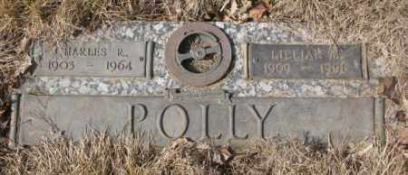 POLLY, CHARLES R. - Yankton County, South Dakota | CHARLES R. POLLY - South Dakota Gravestone Photos