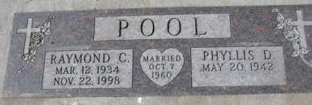 POOL, PHYLLIS D. - Yankton County, South Dakota | PHYLLIS D. POOL - South Dakota Gravestone Photos