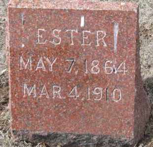 POPPE, ESTER - Yankton County, South Dakota | ESTER POPPE - South Dakota Gravestone Photos