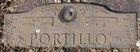 PORTILLO, PHYLLIS - Yankton County, South Dakota | PHYLLIS PORTILLO - South Dakota Gravestone Photos