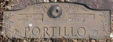 PORTILLO, MIKE - Yankton County, South Dakota | MIKE PORTILLO - South Dakota Gravestone Photos