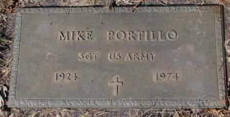 PORTILLO, MIKE (MILITARY) - Yankton County, South Dakota | MIKE (MILITARY) PORTILLO - South Dakota Gravestone Photos