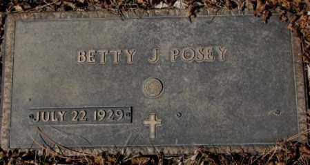 POSEY, BETTY J. - Yankton County, South Dakota | BETTY J. POSEY - South Dakota Gravestone Photos