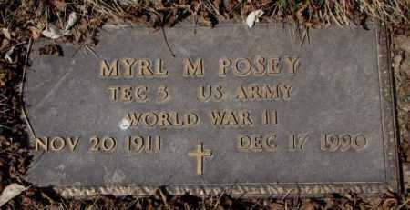 POSEY, MYRL M. - Yankton County, South Dakota | MYRL M. POSEY - South Dakota Gravestone Photos