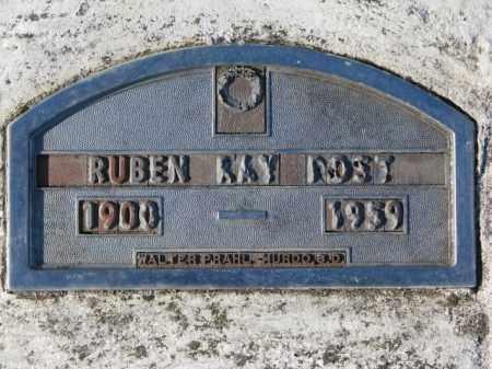 POST, RUBEN RAY - Yankton County, South Dakota   RUBEN RAY POST - South Dakota Gravestone Photos