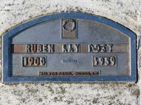 POST, RUBEN RAY - Yankton County, South Dakota | RUBEN RAY POST - South Dakota Gravestone Photos