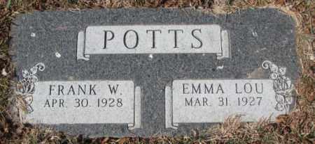 POTTS, EMMA LOU - Yankton County, South Dakota | EMMA LOU POTTS - South Dakota Gravestone Photos