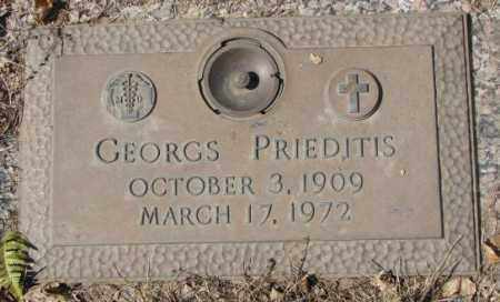 PRIEDITIS, GEORGS - Yankton County, South Dakota | GEORGS PRIEDITIS - South Dakota Gravestone Photos